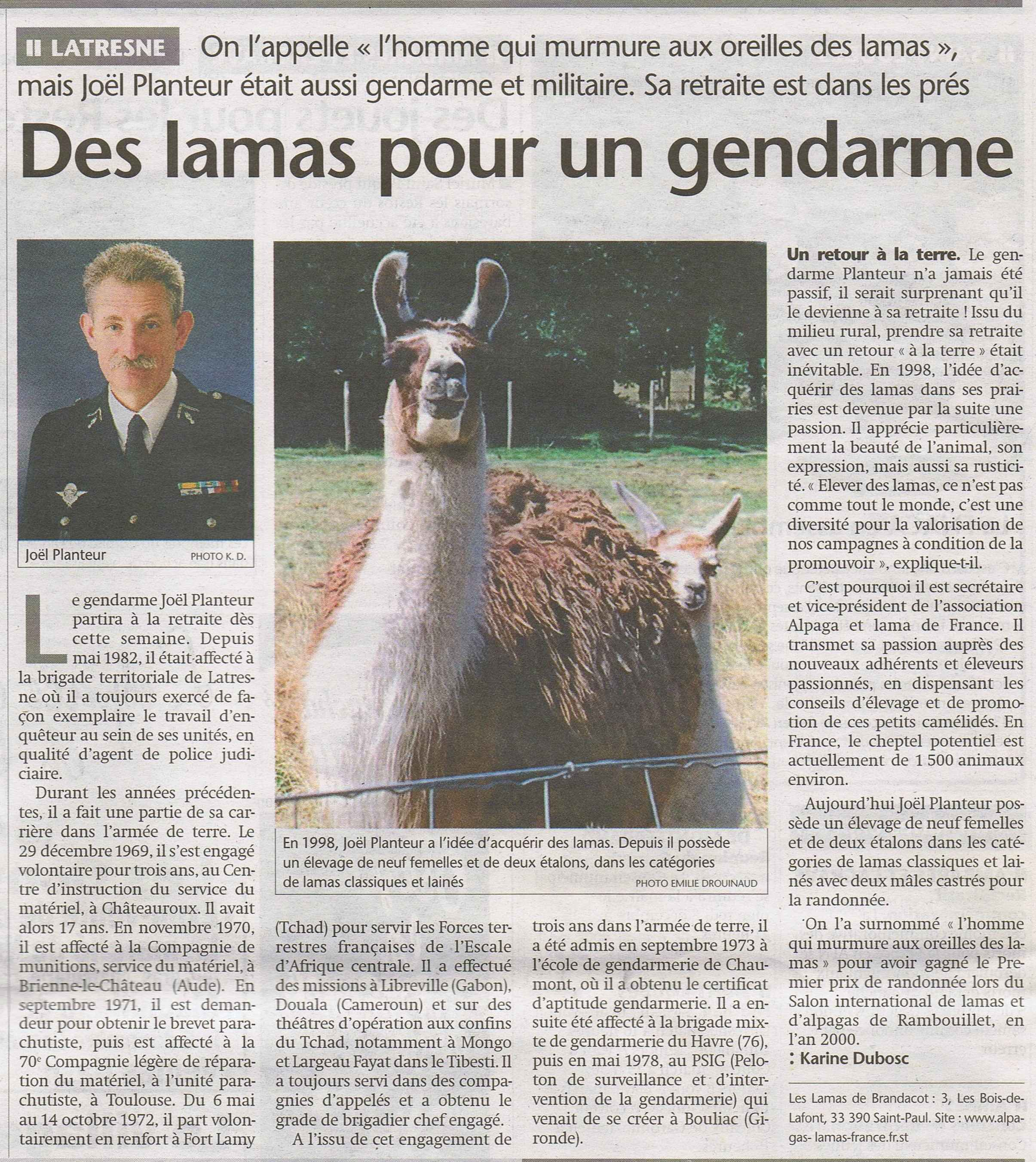 Article Sud-Ouest n°1